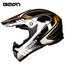 BEON摩托车拉力越野头盔男女四季通用机车全盔覆式赛车夏季冬季